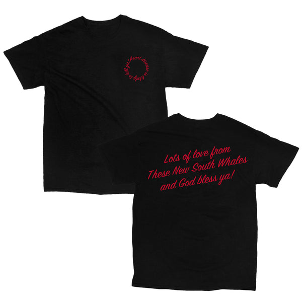 These New South Whales - Cholesterol Heart Tee (Black)
