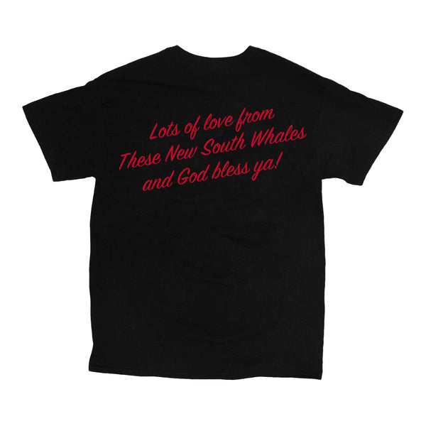 These New South Whales - Cholesterol Heart Tee (Black) back