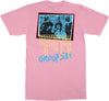 Circle Jerks - Group Sex Photo Tee (Pink) back