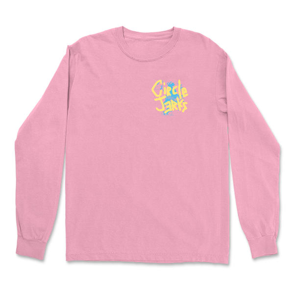 Circle Jerks - Group Sex Photo Long Sleeve (Pink)