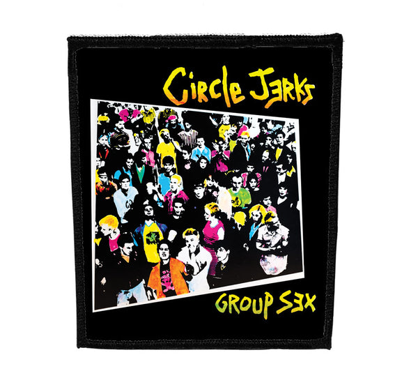 Circle Jerks - Group Sex Back Patch