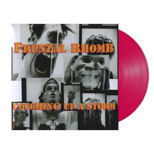 Frenzal Rhomb - Coughing Up A Storm LP (4 Litre Lindemans Classy Red Vinyl)
