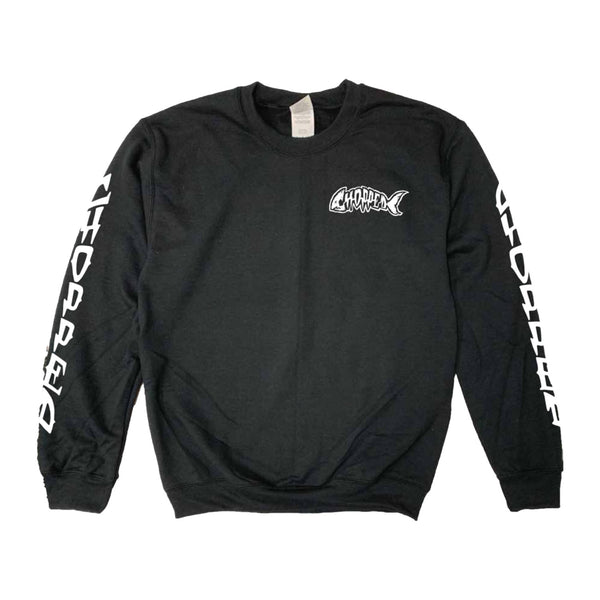 Chopped - Cat Crewneck (Black) back