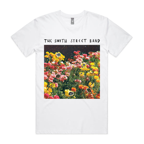 The Smith Street Band - Cat Eyes Tee (White)