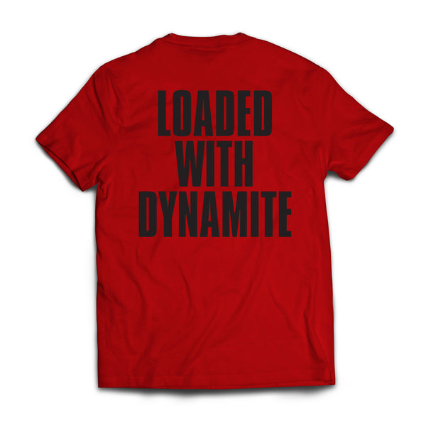Cavalera Conspiracy - Loaded with Dynamite Tee (Red) back