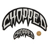 Chopped Logo Patch - Large and Small