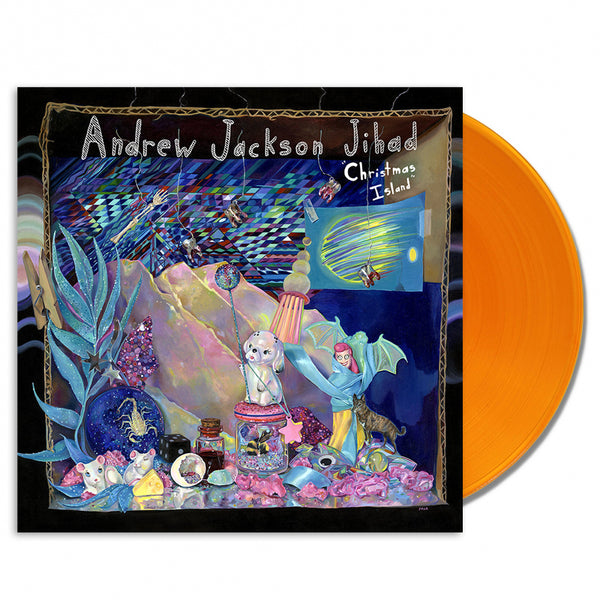 AJJ - Christmas Island LP (Orange)