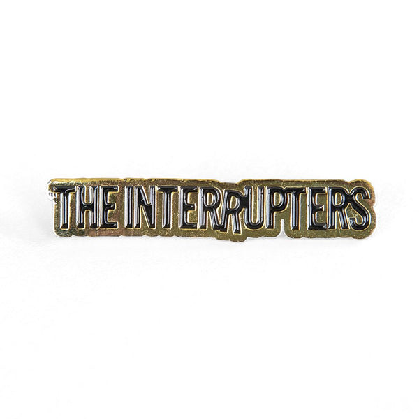 The Interrupters - Classic Logo Enamel Pin