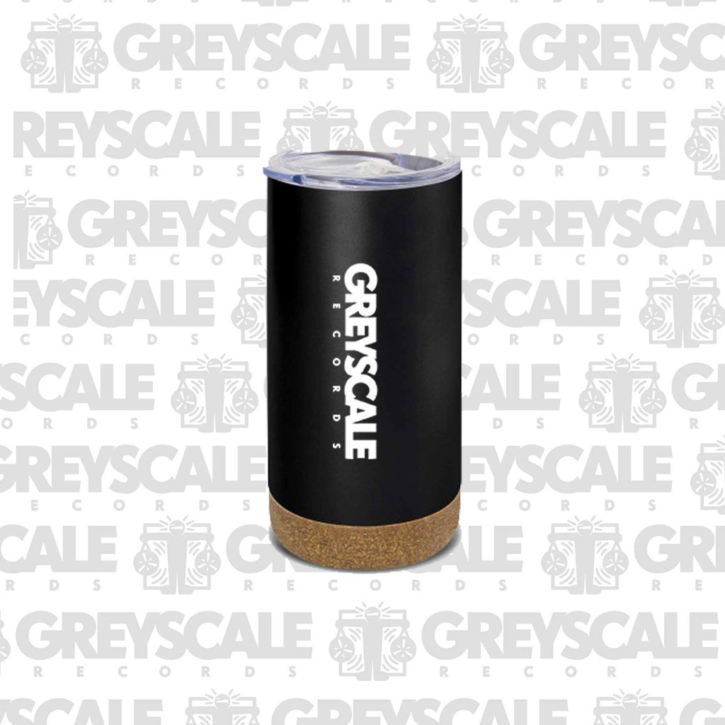 Greyscale Reusable Coffee Vacuum Cup