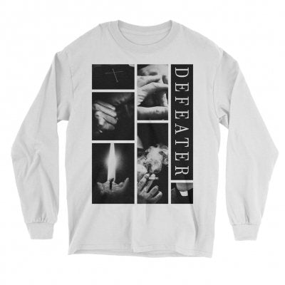 Defeater - Collage Longsleeve (White)