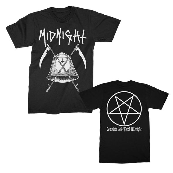 Midnight - Complete and Total Midnight T-shirt (Black)