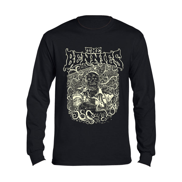 The Bennies - Corruption Longsleeve (Black)