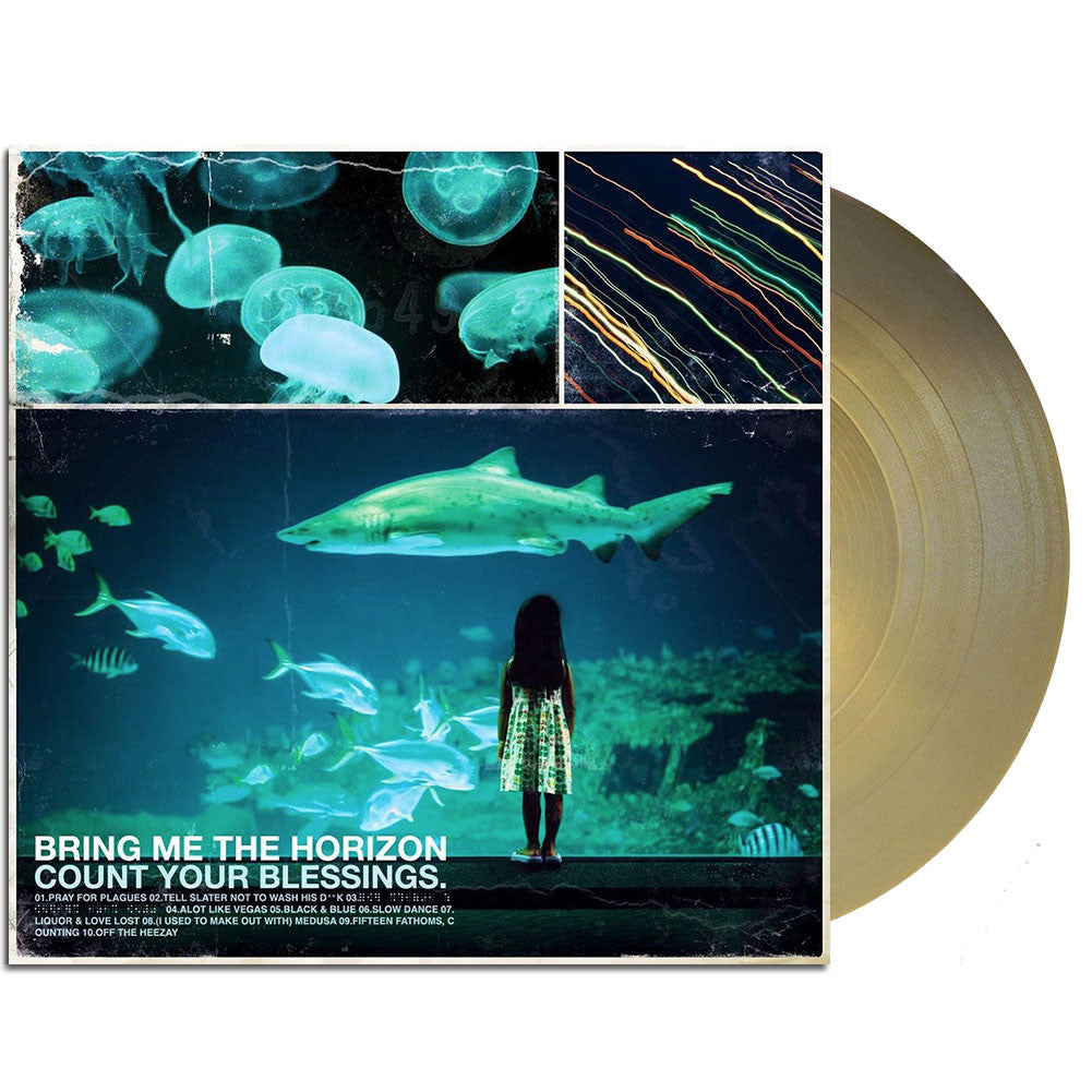 Bring Me The Horizon - Count Your Blessings LP Metallic Gold