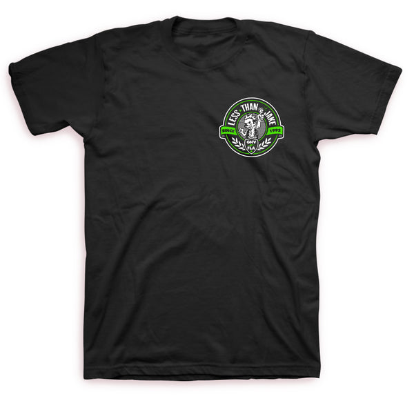 Less Than Jake - Crest Logo Tee (Black)