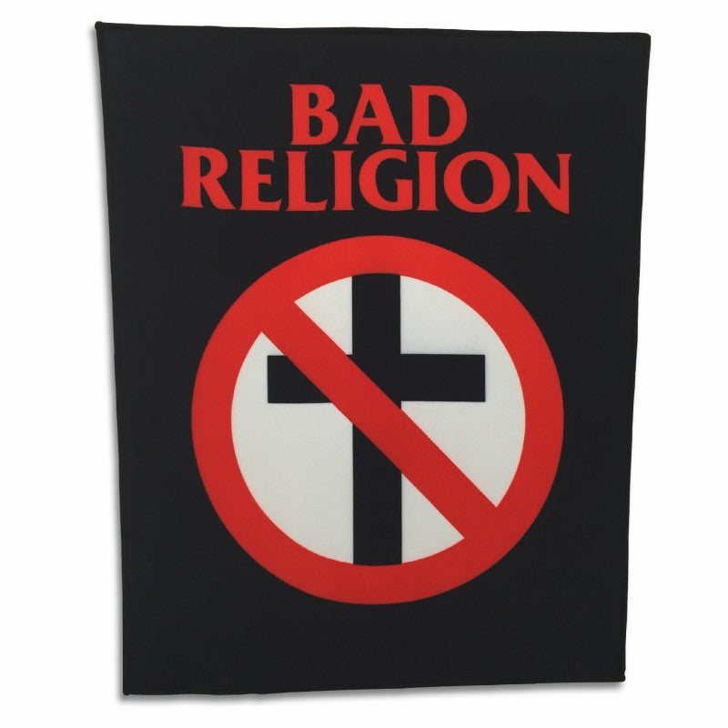 Bad Religion Crossbuster Back Patch