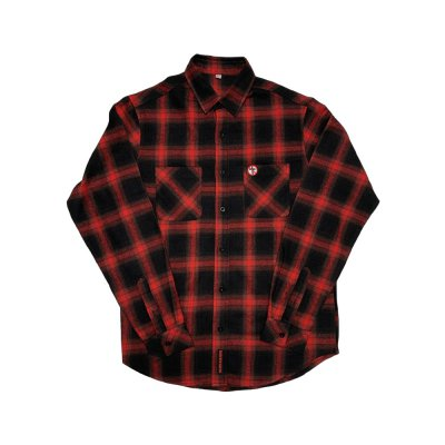 Bad Religion - Crossbuster Flannel (Black/Red)