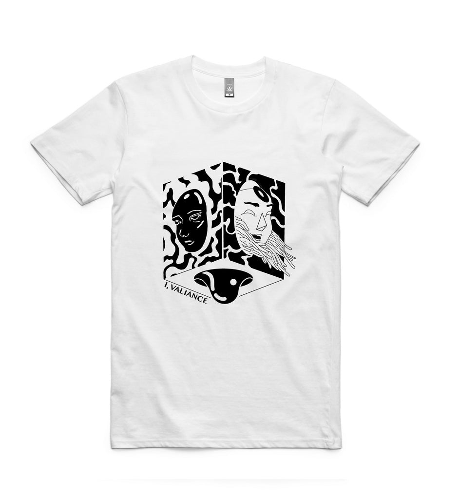 I Valiance - Blood Beneath Tee (White)