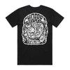 Chopped - Cut Snake Tee (Black) Back)