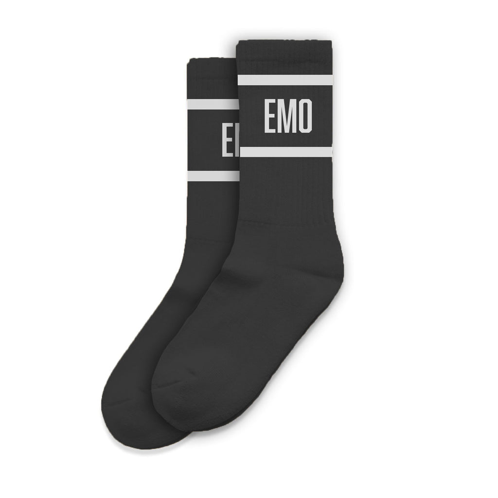 Destroy All Lines - Emo Socks