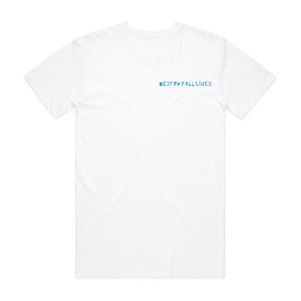 Destroy All Lines - Since 2003 T-Shirt (White)