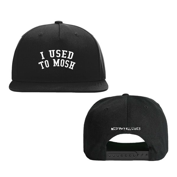 Destroy All Lines - I Used To Mosh Snapback Hat