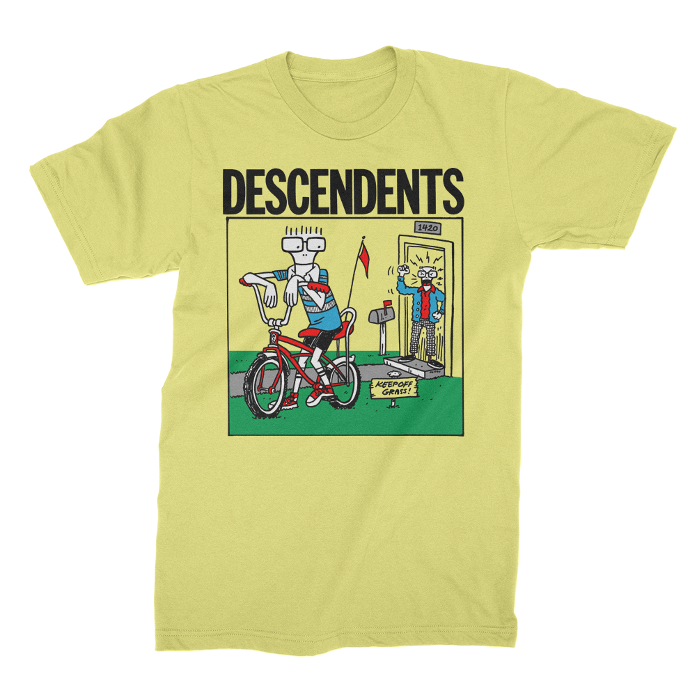 Descendents - Keep Off The Grass T-shirt (Yellow)