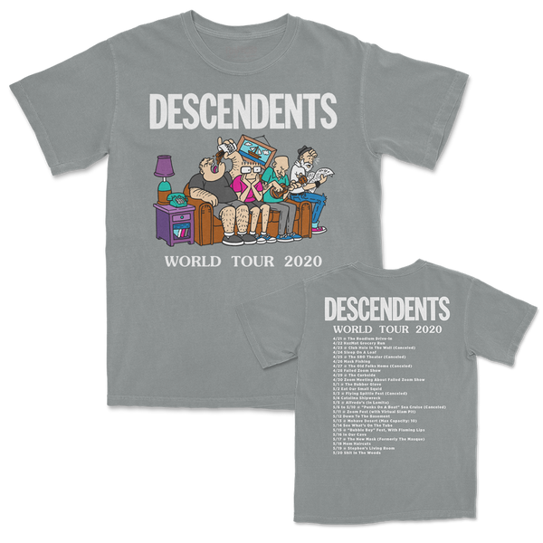Descendents - World Tour 2020 Tshirt (Granite)