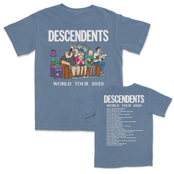 Descendents - World Tour 2020 T-shirt (Denim)