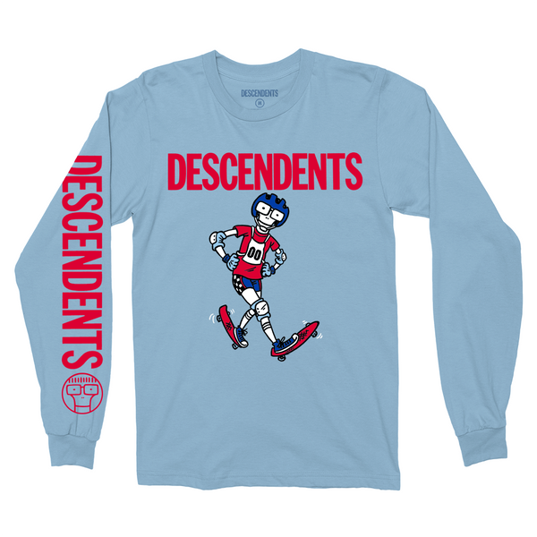 Descendents - Freestyle Longsleeve (Light Blue)