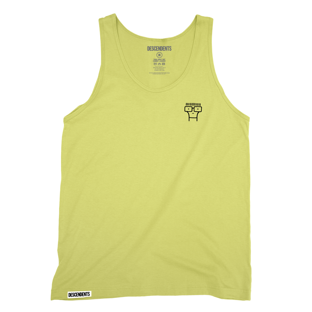 Descendents - Milo Embroidered Tank (Yellow)