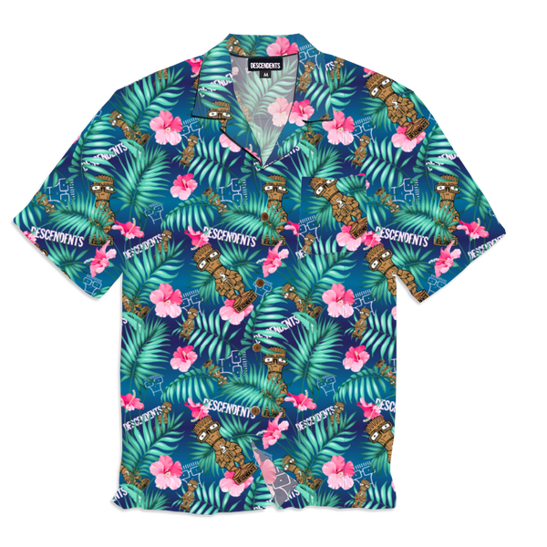 Descendents - Milo Idol Tiki Button Up Shirt