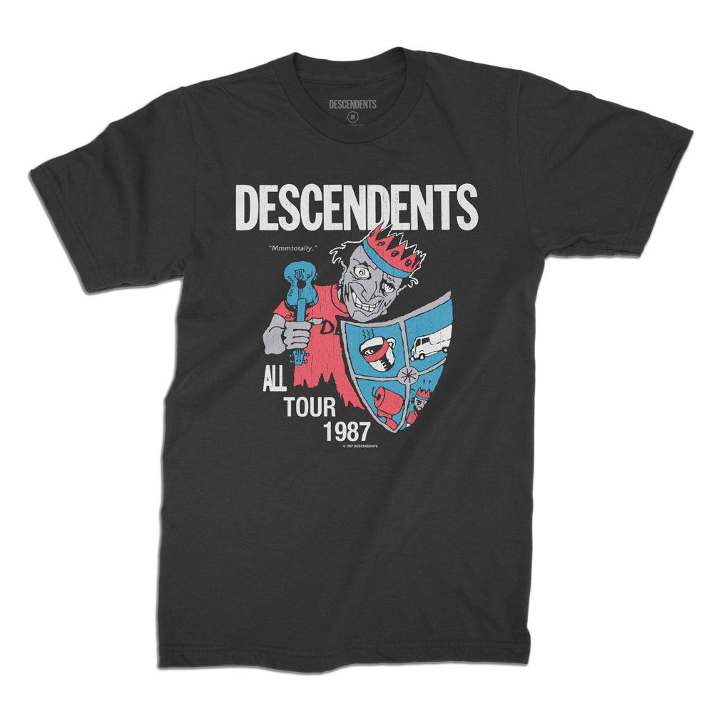 Descendents - All Tour Jester T-shirt (Black)
