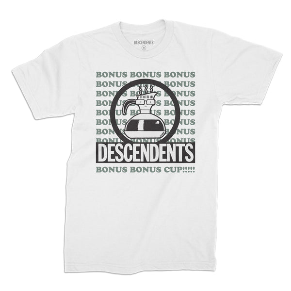 Descendents - Bonus Cup T-shirt (White)