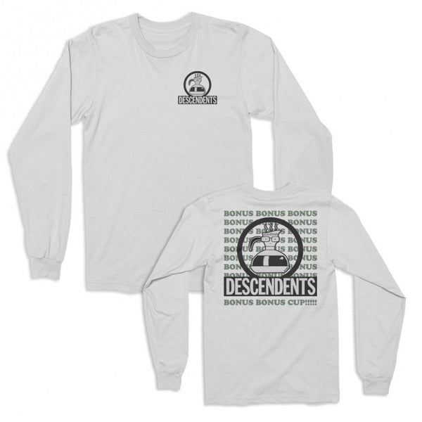 Descendents - Bonus Cup Longsleeve (White) No sleeve print