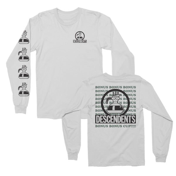 Descendents - Bonus Cup Longsleeve (White)