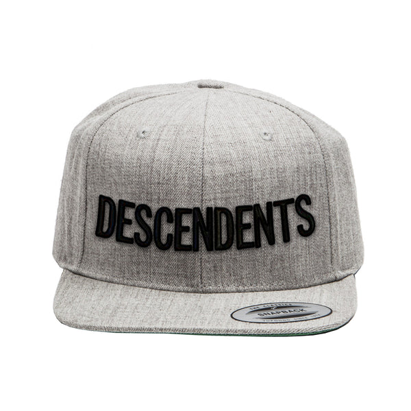 Descendents - Logo Snapback Hat (Grey)