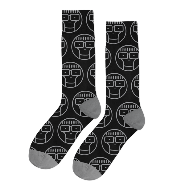 Descendents - Circle Milo Socks (Black/Grey)