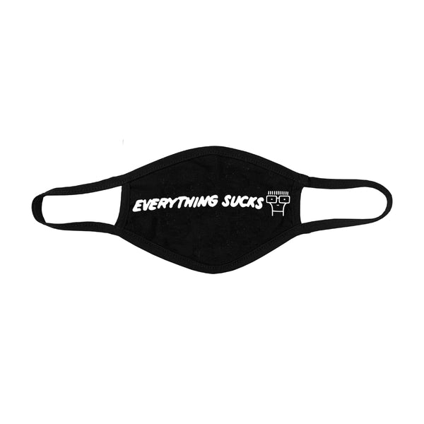 Descendents - Everything Sucks Face Mask (Black)