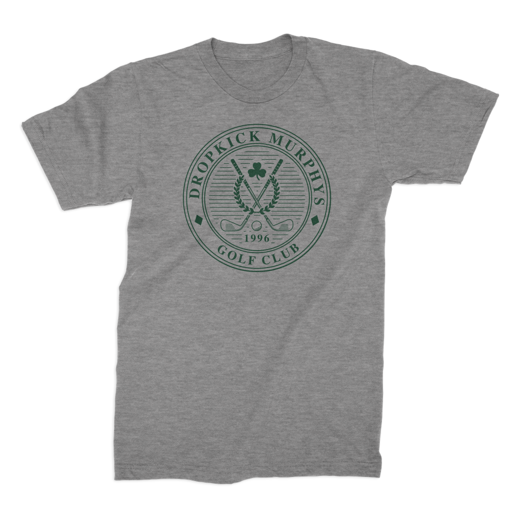 Dropkick Murphys - Golf Club Seal T-shirt (Heather Grey)