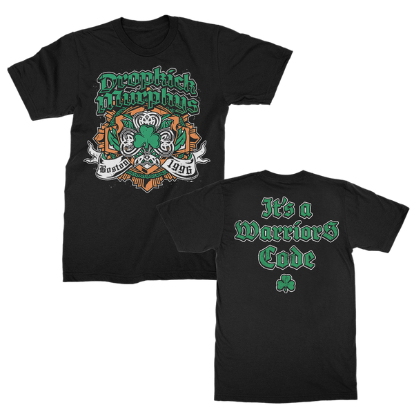 Dropkick Murphys - Shamrock Badge Tee (Black)