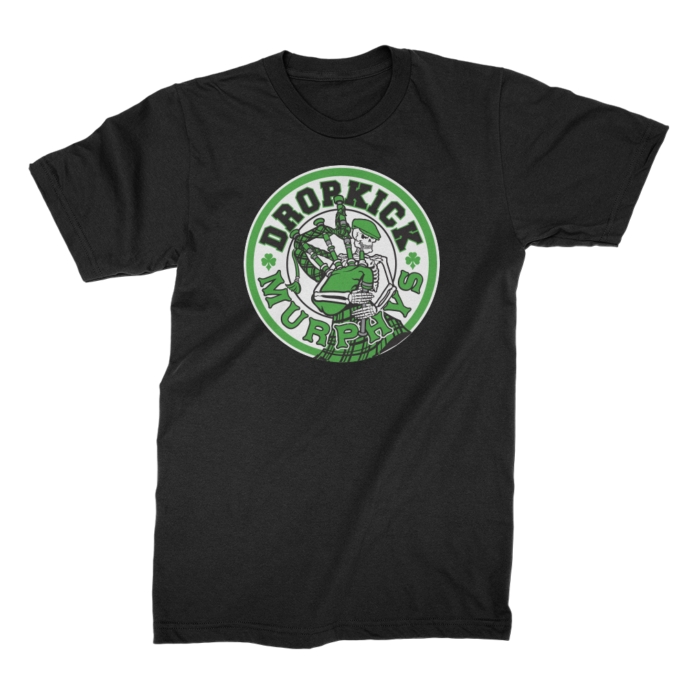 Dropkick Murphys - Skelly Piper Tee (Black)