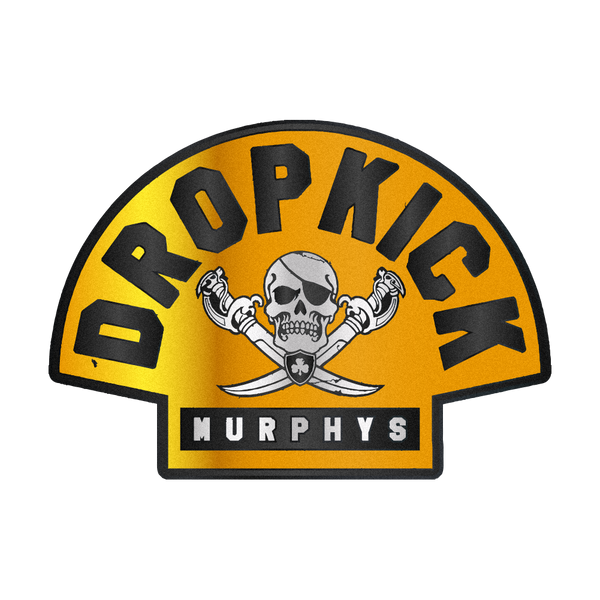 Dropkick Murphys - Bruins Colours Pin