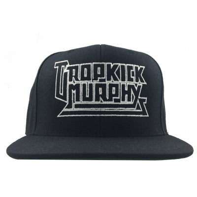 DKM Metal Logo Snapback Hat (Black)