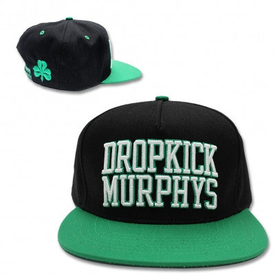Dropkick Murphys Embroidered Logo Snapback Hat