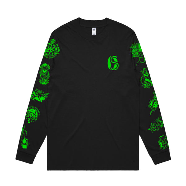 Ocean Sleeper - 1 Year Don't Leave Me This Way Longsleeve (Black)