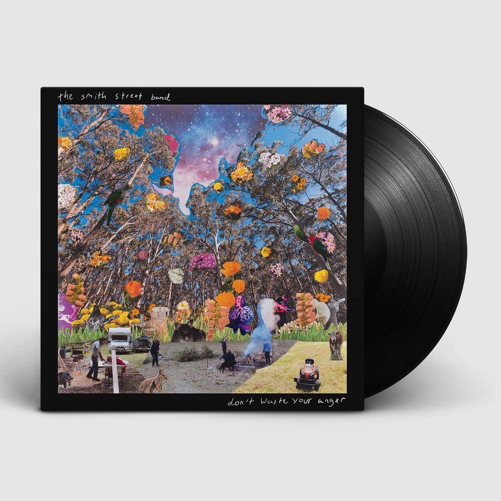 The Smith Street Band - Don't Waste Your Anger LP (Black)