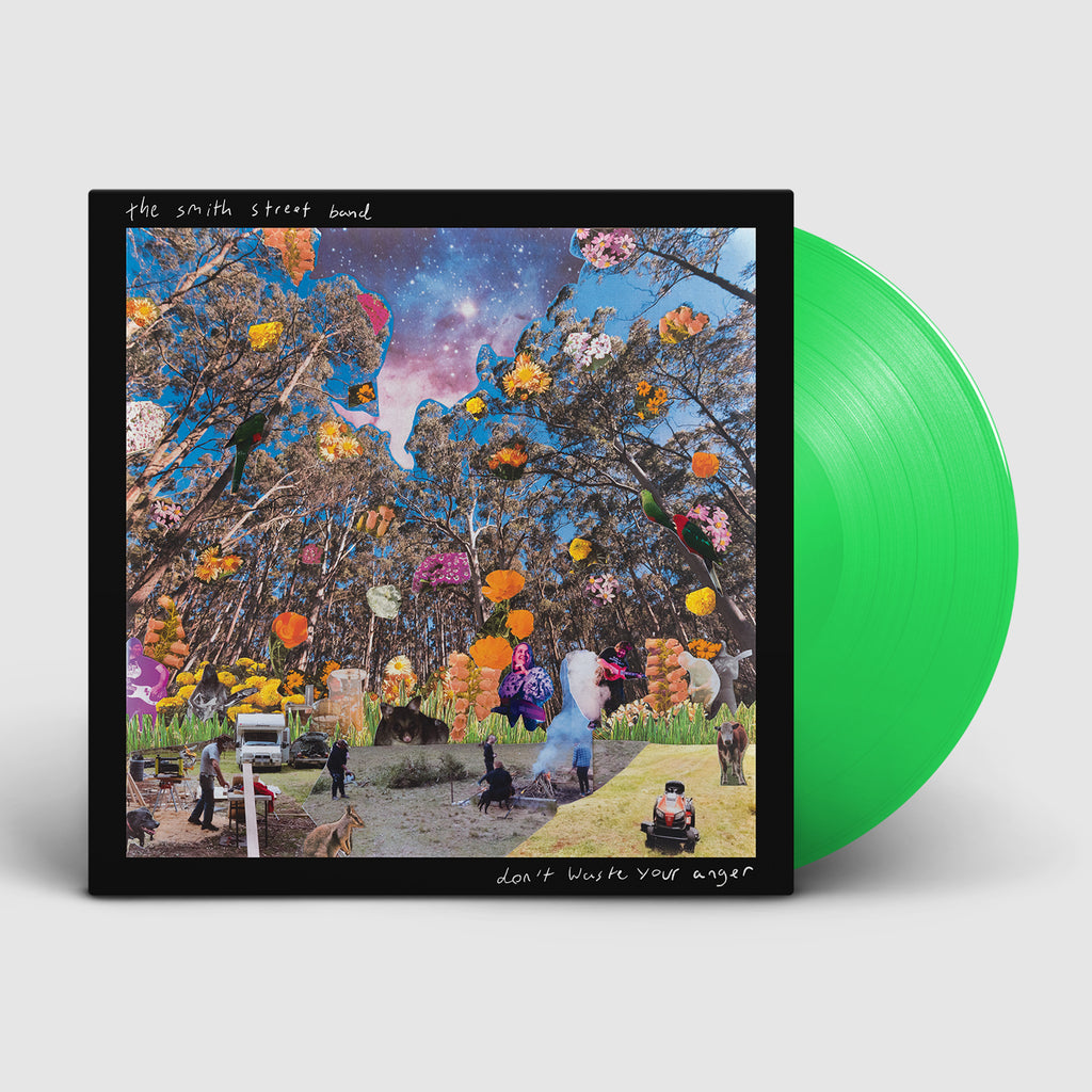 Don't Waste Your Anger LP (Neon Green)