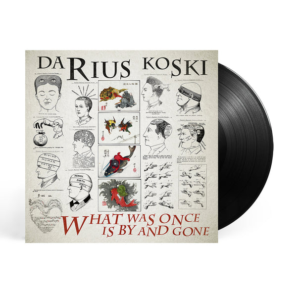 Darius Koski - What Was Once Is By And Gone LP (Black)
