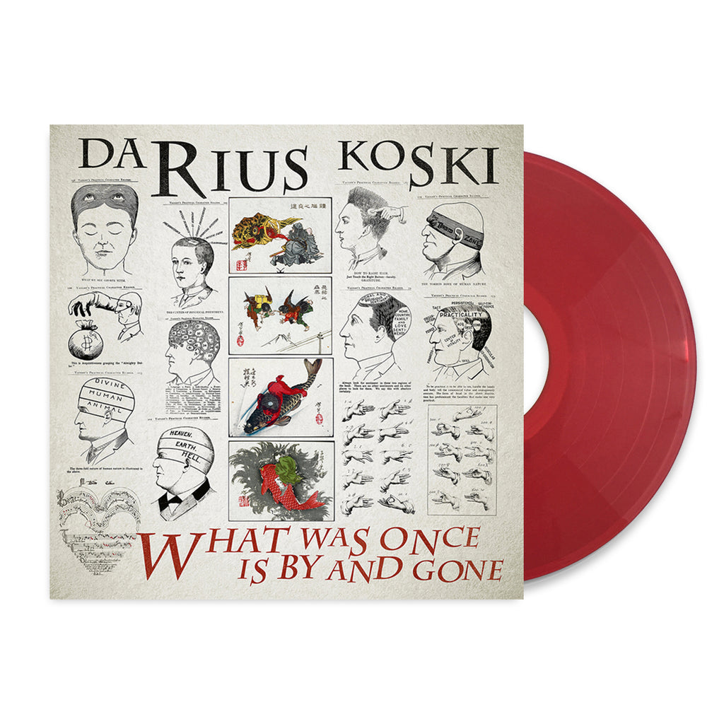 Darius Koski - What Was Once Is By And Gone LP Red