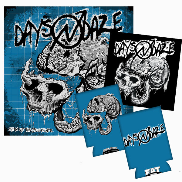 Days N Daze - Show Me The Blueprints LP (Colour) Bundle